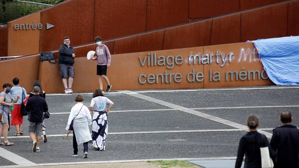 France condemns vandalism at Nazi massacre memorial