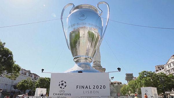 شاهد: عرض كأس دوري أبطال أوروبا في وسط لشبونة عشية النهائي الساخن