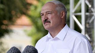 Александр Лукашенко на митинге сторонников в Гродно