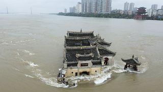 فيضانات قياسية تجتاح الصين- أرشيف