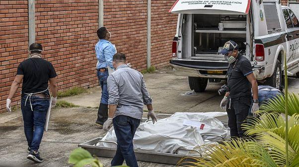 Arauca'daki saldırı sonrası görüntüler