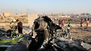 İran'da vurulan Ukrayna'ya ait yolcu uçağı