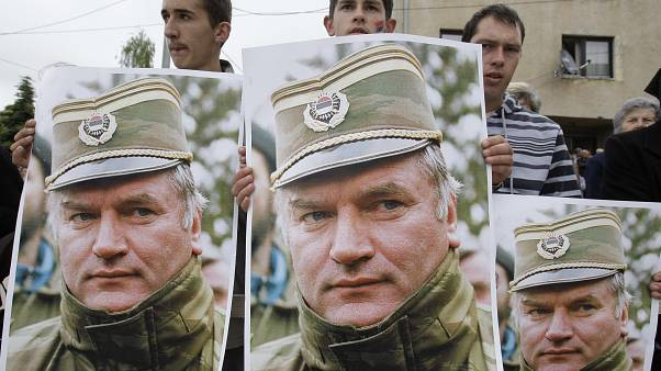 Le journal accroché de Ratko Mladic