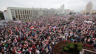 L'opposition de nouveau dans la rue face à Alexandre Loukachenko