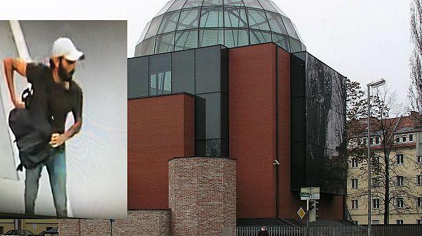 Tatverdächtiger und Grazer Synagoge