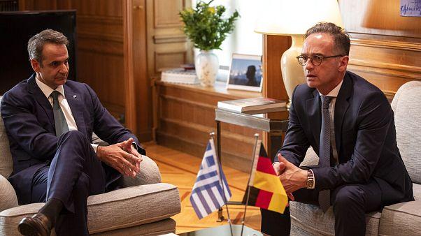 Heikle Mission: Heiko Maas will im griechisch-türkischen Gas-Streit vermitteln