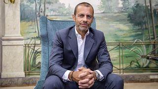 UEFA Başkanı Alexander Ceferin