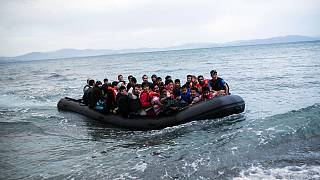 Yunanistan'a gelen Afgan göçmenler - 2015