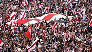 تظاهرات روز یکشنبه مخالفان در بلاروس