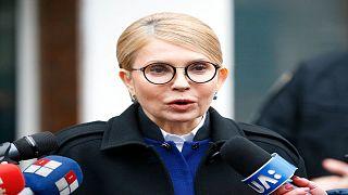 رئيسة الوزراء السابقة وزعيمة الحزب المعارض يوليا تيموشينكو