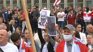 Thousands protest in Minsk against Lukashenko election