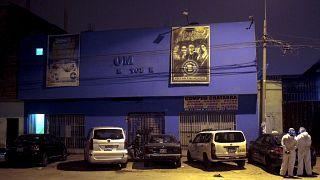 Discoteca de Lima en la que se produjo la tragedia.