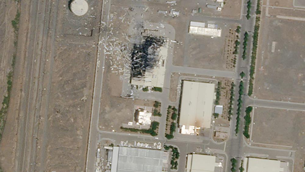 İran, Natanz nükleer tesisinde çıkan yangının sabotaj olduğunu ileri sürdü