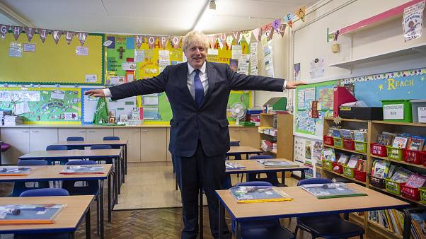 PM Johnson urges parents to send kids to school