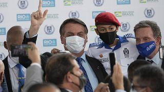 الرئيس البرازيلي جائير بولسونارو