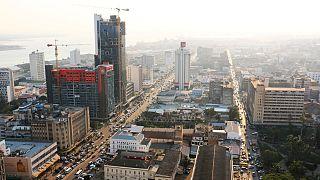 Imagem panorâmica da capital moçambicana, Maputo