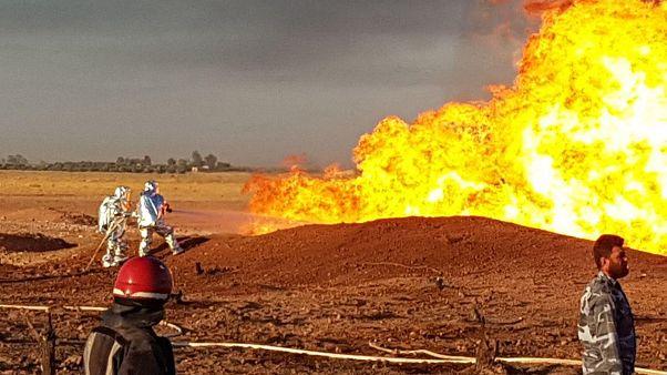 Arap Gaz Boru Hattı'ndaki patlama