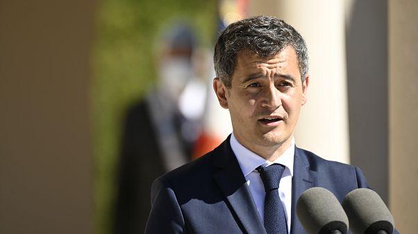 Fransa İçişleri Bakanı Gérald Darmanin