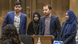 جلسة استماع خاصة بمحاكمة منفذ هجوم المسجدين في كرايست تشيرش - نيوزيلاندا. 2020/08/24