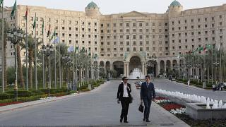 فندق الريتز كارلتون في الرياض الذي احتجز فيه مئات الأمراء السعوديين واتهموا بالفساد. 2019/10/28