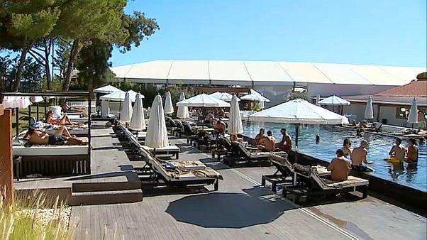Turistas britânicos no Algarve