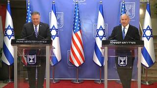 """Israël : Mike Pompeo se dit """"optimiste"""""""