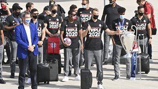 Nach 1:0 in Lissabon: Bayern zurück in München