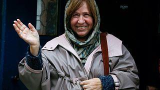 Nobel Edebiyat Ödüllü yazar Svetlana Alexievich