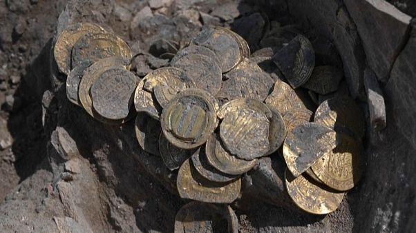 Jugendliche finden Goldschatz bei Grabung in Israel