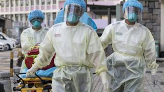 Medical staff wearing personal protective equipment (PPE) in Hong Kong. File picture.