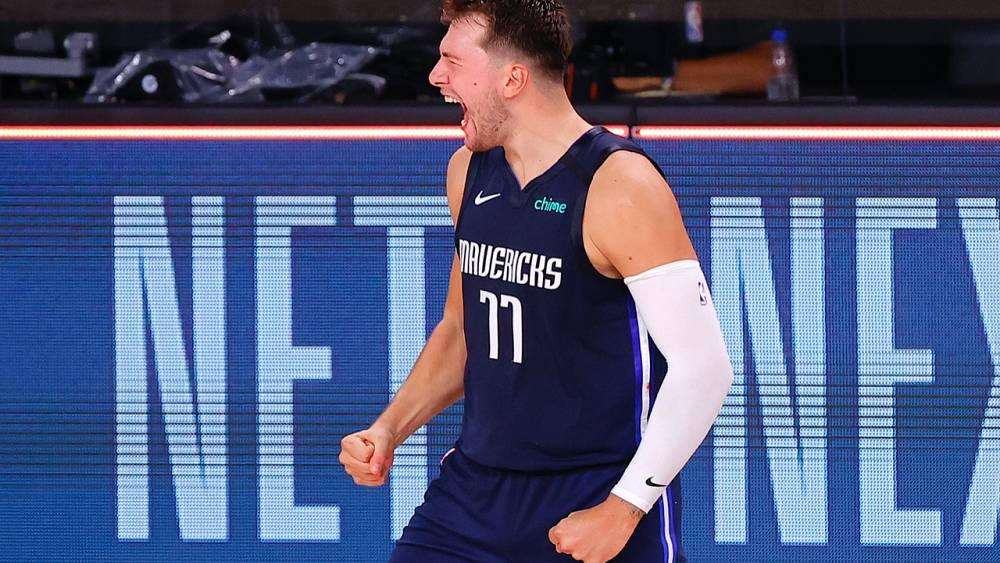 Dallas Mavericksli Luka Doncic'ten NBA playofflarında rekor