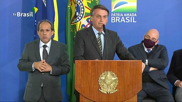Bolsonaro beszólt az újságíróknak