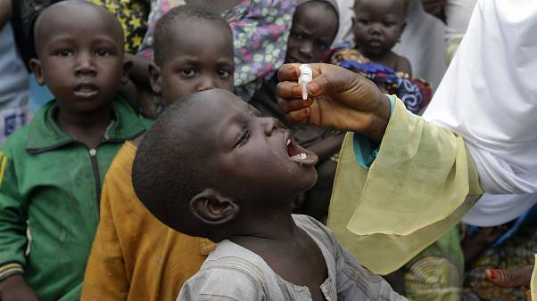 Nijerya'da çocuk felcine karşı aşılama kampanyası