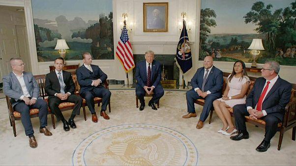 ABD Başkanı Trump ve yurt dışında tutuklu bulunan Amerikalı vatandaşlar