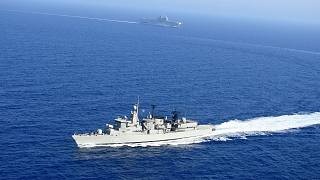 Akdeniz'de askeri tatbikat