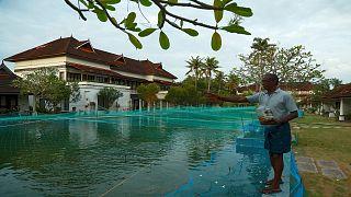 Hindistan'da lüks otel balık çiftliğine dönüştü