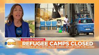 Giorgia Orlandi reports on migrant camps closures in Sicily