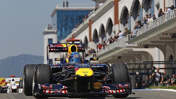 Istanbul Park Sebastian Vettel