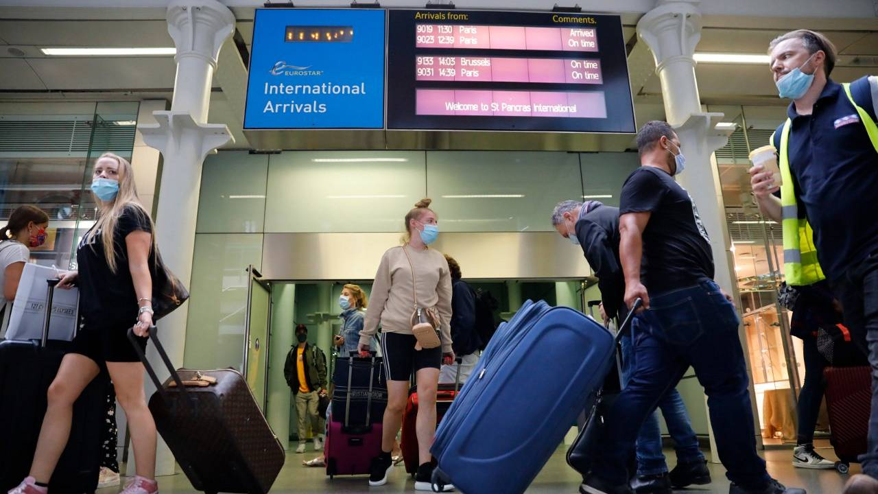 Britain imposed its own 14-day self-isolation rule for travellers returning from France on August 15, causing a flurry of passengers to rush back to the UK .