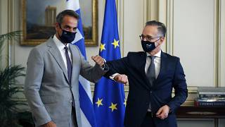 رئيس الوزراء اليوناني ووزير الخارجية الألماني