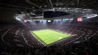 A Puskás Aréna avatóján játszott Magyarország - Uruguay barátságos labdarúgó-mérkőzés 2019. november 15-én.