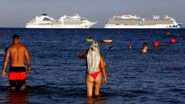 Τουρίστες στην Κύπρο