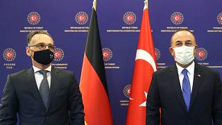 Dışişleri Bakanı Mevlüt Çavuşoğlu, Almanya Dışişleri Bakanı Heiko Maas (solda) ile görüştü