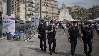 Vieux Port, Marseille, 18 août 2020