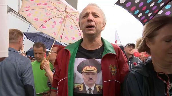 Pulso callejero entre las dos bielorrusias, la que ama y la que detesta a Lukashenko