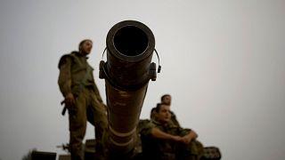 سربازان اسرائیلی در مرز لبنان و اسرائیل