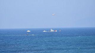Yunanistan'ın Herke adası açıklarında batan bottan 92 sığınmacı kurtarıldı / ARŞİV