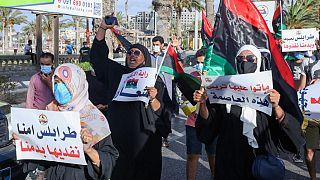 Libye : Troisième jour consécutif de manifestations à Tripoli