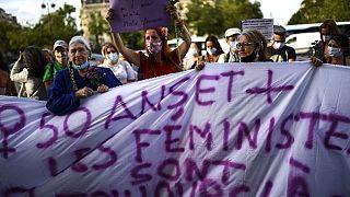 Manifestation féministe à Paris, 26 août 2020