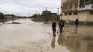 Afganistan'daki sel felaketinde en az 46 kişi hayatını kaybetti